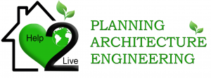 Help 2 Live New Logo PLANNING ARCHITECTURE ENGINEERING